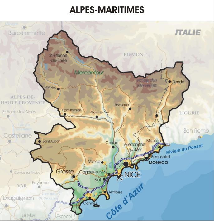 Nous intervenons dans tous le département des Alpes-Maritimes